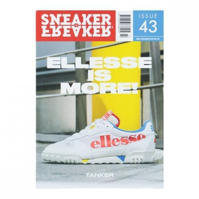 Sneaker Freaker Magazine Issue 43 Ellesse Is More Cover