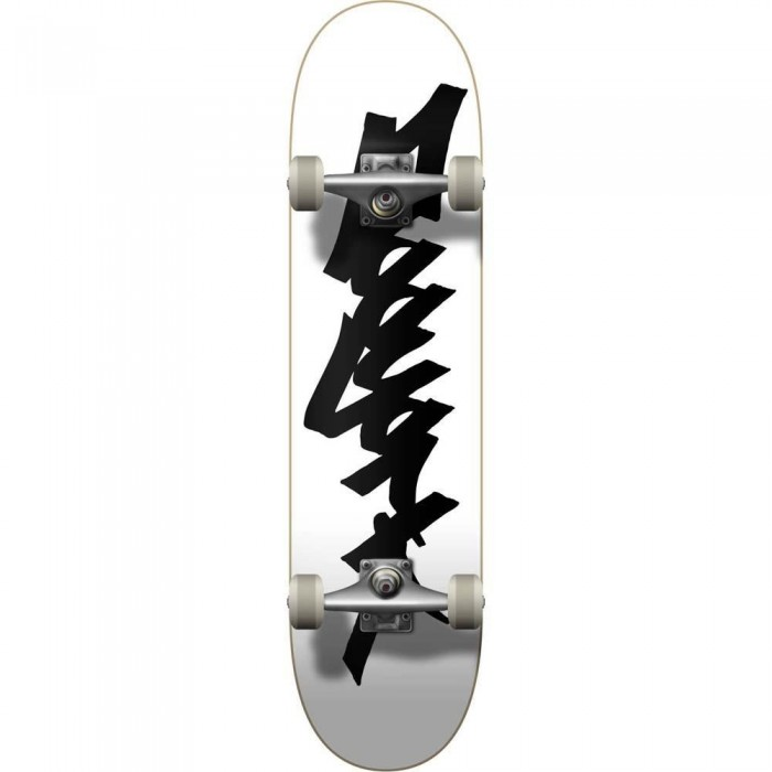 """Zoo York 0G 95 Tag Factory Complete Skateboard White Black 8"""""""