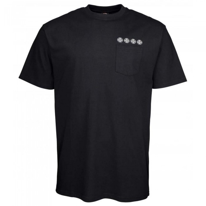 Independent Truck Co Chain Cross T-Shirt Black