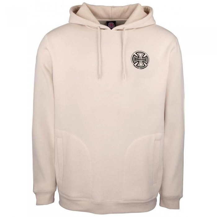 Independent Truck Co Big Truck Hooded Sweatshirt Off White