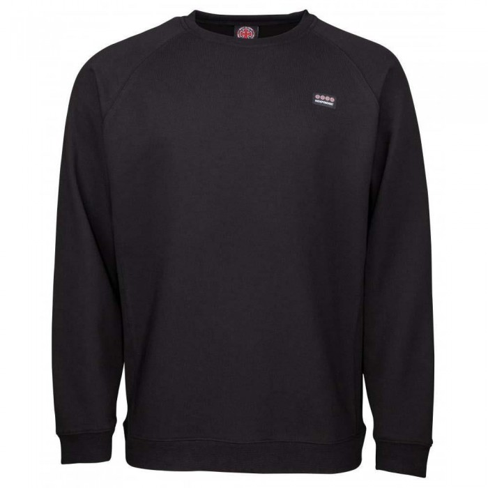 Independent Truck Co Manner Crewneck Sweatshirt Black