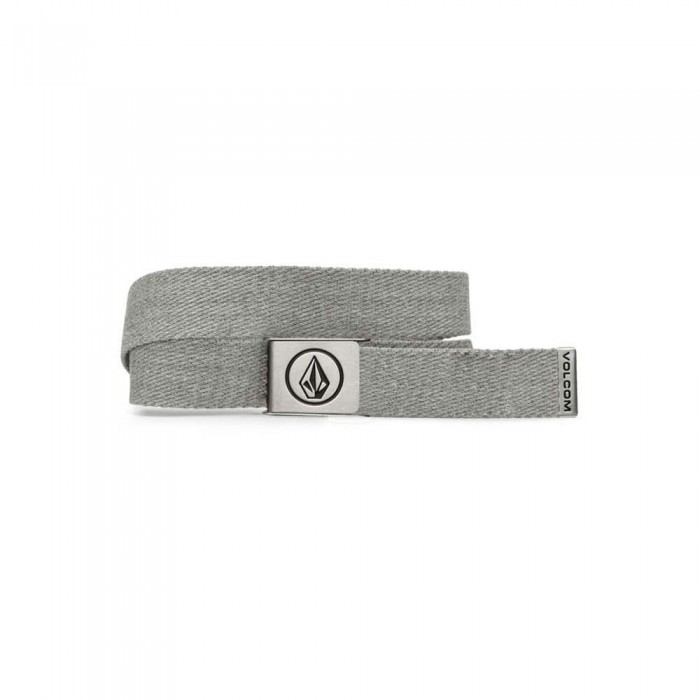 Volcom Circle Web Belt SP21 Heather Grey