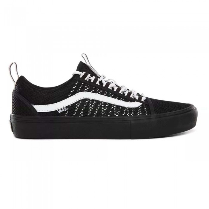 Vans Old Skool Sport Pro Black Black White Skate Shoes