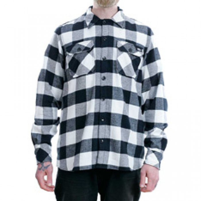 Dickies Sacramento Flannel Shirt Black
