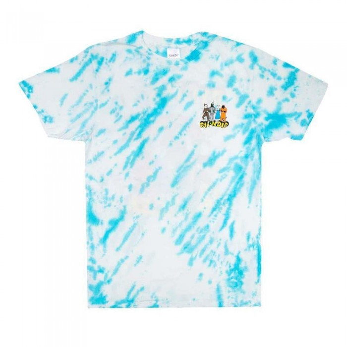 Rip N Dip No Place Like Home T-Shirt Blue Stripe Dye
