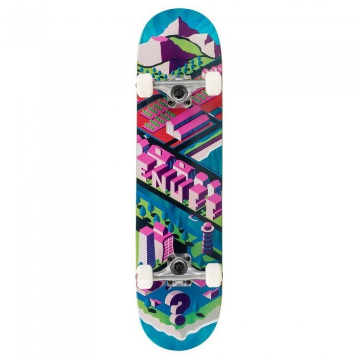 """Enuff Isotown Factory Complete Skateboard Blue 7.75"""""""