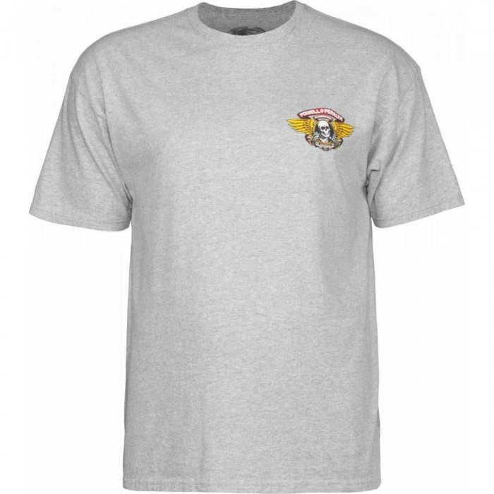 Powell Peralta Winged Ripper T-Shirt Athletic Heather