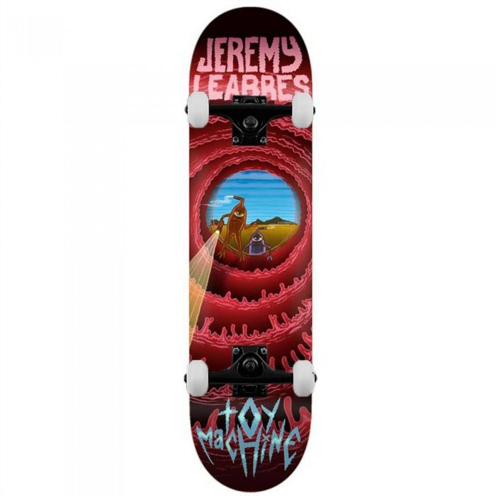 """Toy Machine Leabres Cave Sect Complete Skateboard Multi 8.5"""""""