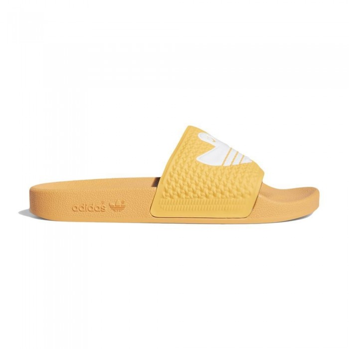 Adidas Skateboarding Shmoofoil Slide Hazy Orange Sliders