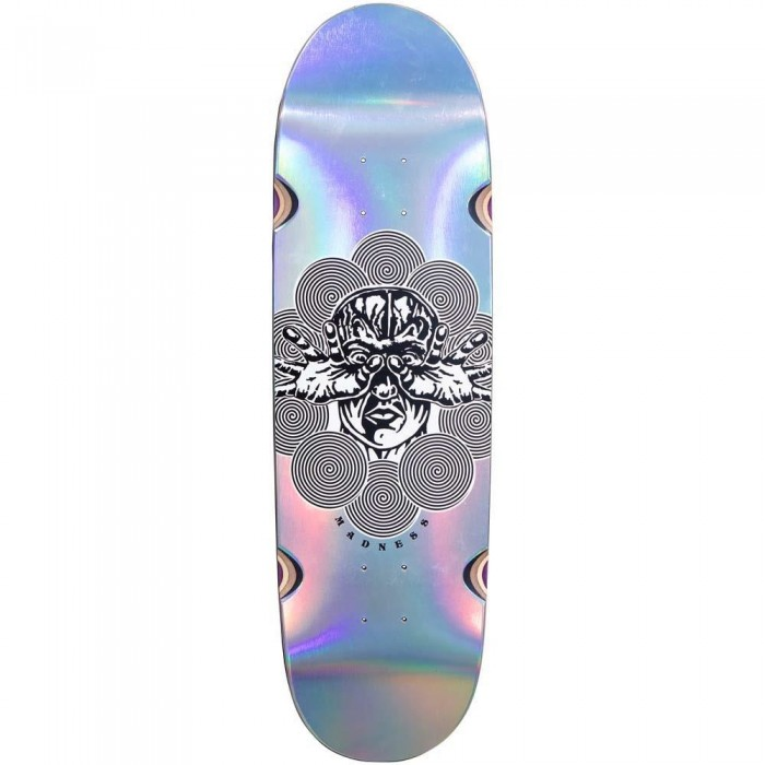 """Madness Manipulate R7 Skateboard Deck Holographic 9"""""""