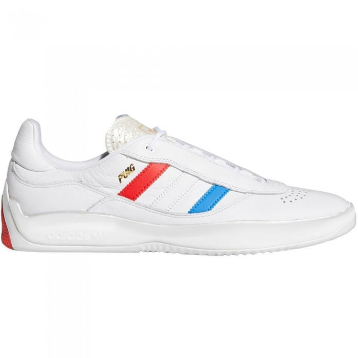 Adidas Skateboarding Puig Feather White Skate Shoes