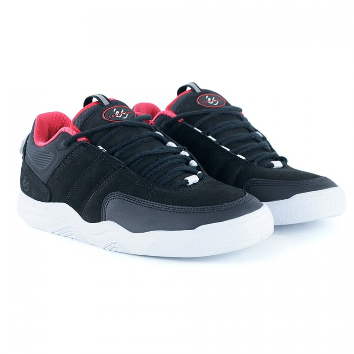 E's Footwear Evant Black Skate Shoes