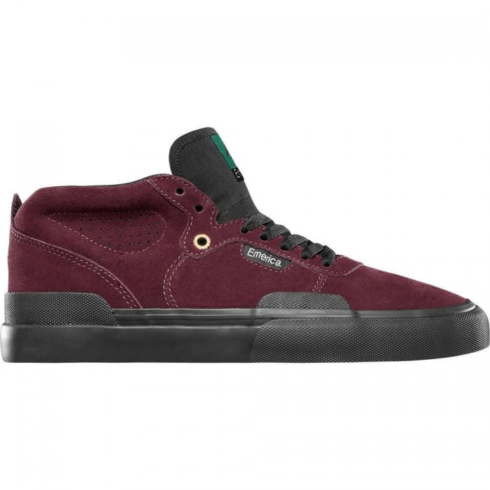 Emerica Footwear Pillar Oxblood Skate Shoes