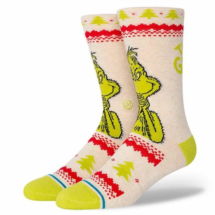 Stance Socks The Grinch Sweater Canvas Large