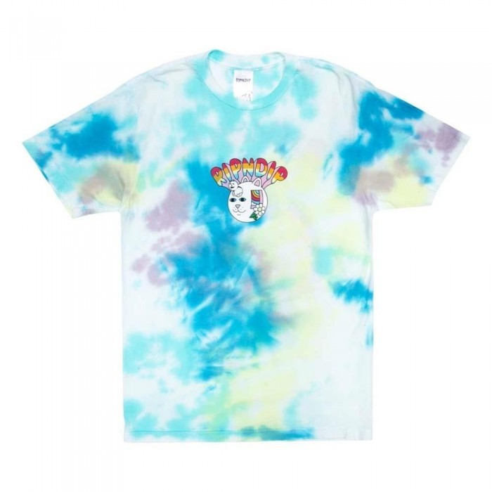 Rip N Dip Out Of The Box T-Shirt Blue & Yellow Tie Dye