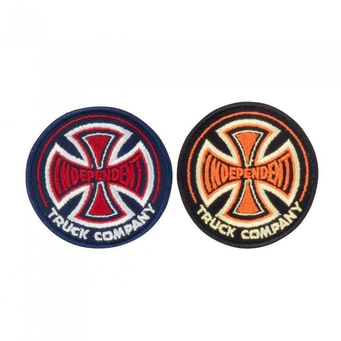 Independent Truck Co 78 Cross Patch Set Of 2 Multi