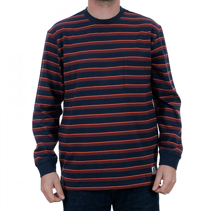 Element Heavy Long Sleeved T-Shirt Eclipse Navy