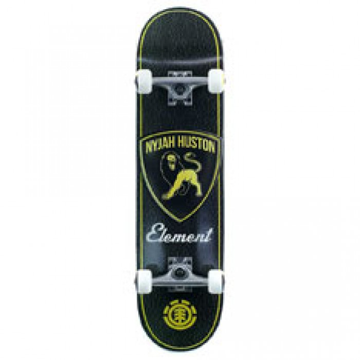 Element Skateboards Nyjah Huston Touring Factory Complete Black 7.75""