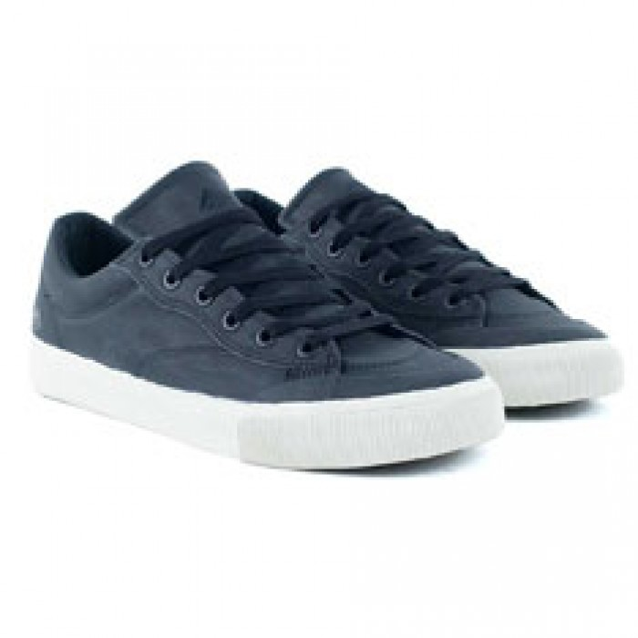 Emerica Footwear Indicator Low Black White White Skate Shoes