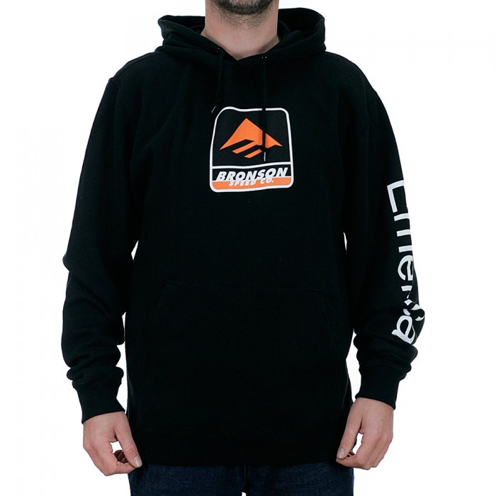 Emerica x Bronson Hooded Sweatshirt Black