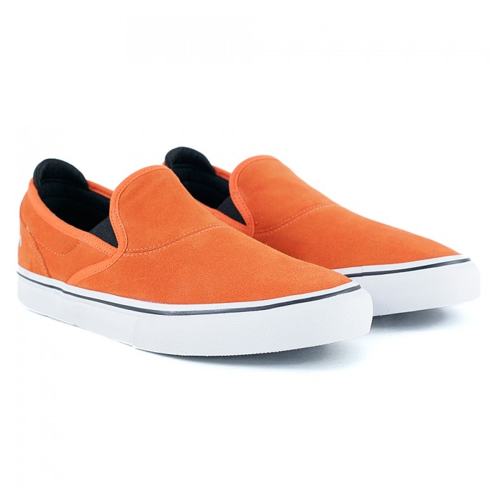 Emerica x Bronson Wino G6 Slip On Orange Skate Shoes