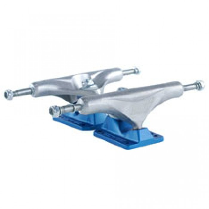 Enuff Decade Pro Satin Skateboard Trucks Natural Blue 139mm