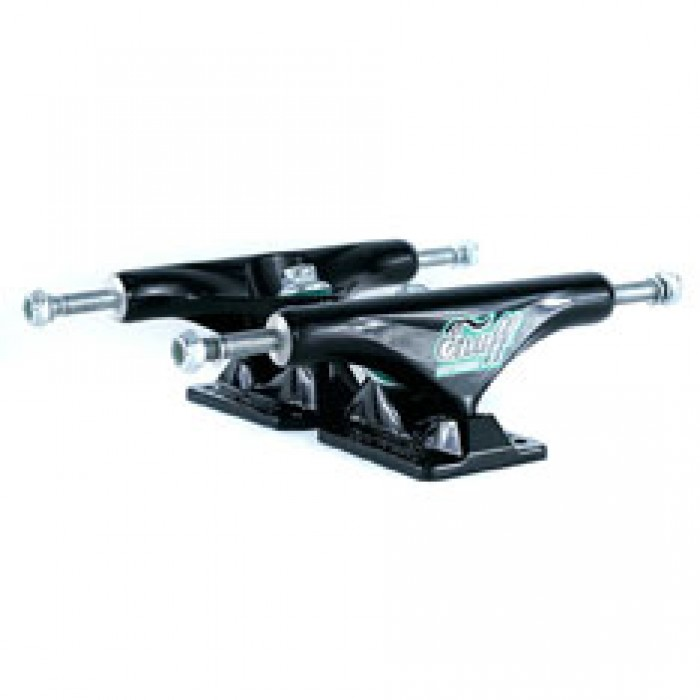 Enuff Decade Pro Skateboard Trucks Black Black 129mm
