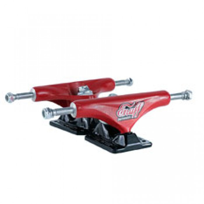 Enuff Decade Pro Skateboard Trucks Red Black 129mm