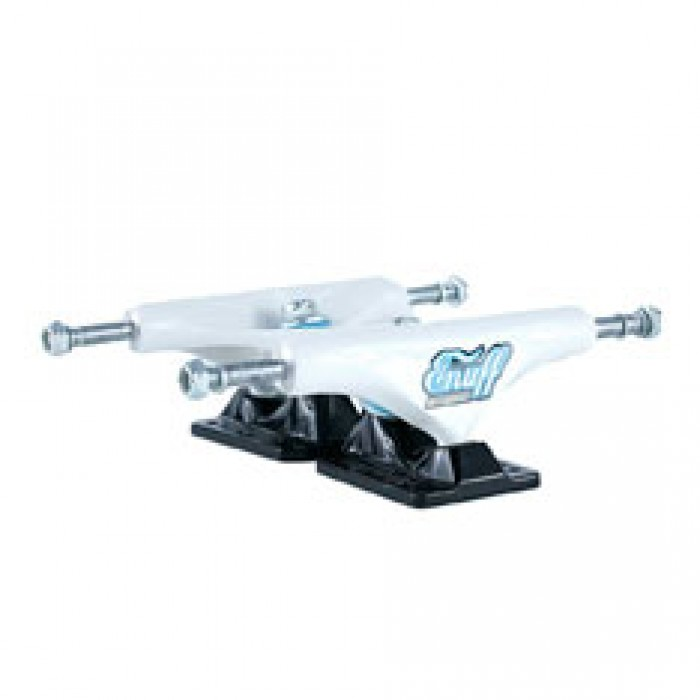Enuff Decade Pro Skateboard Trucks White Black 129mm