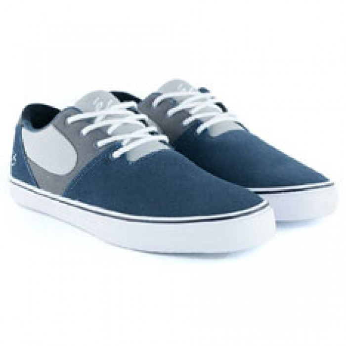 Es Footwear Accel SQ Dark Grey Grey Skate Shoes