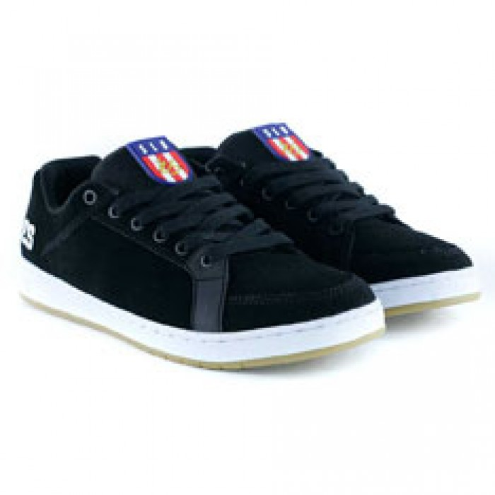Es Footwear Sal Black Skate Shoes