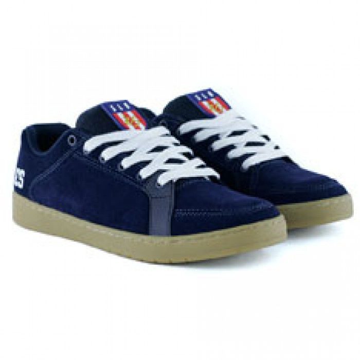 Es Footwear Sal Navy Gum White Skate Shoes
