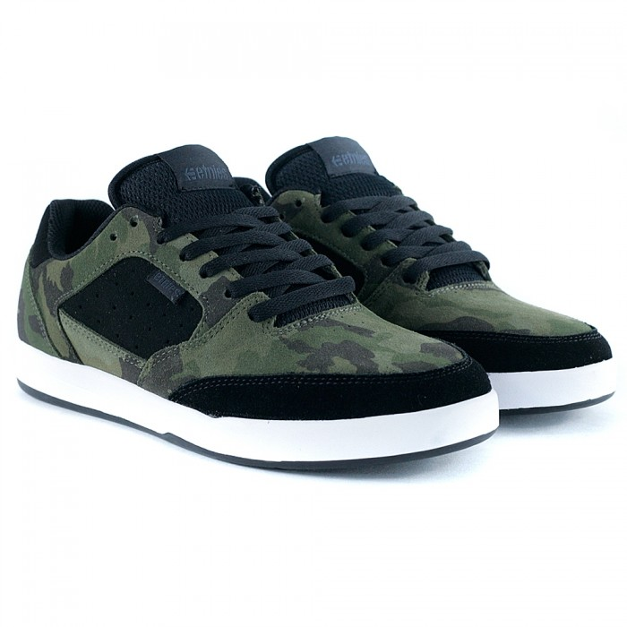 Etnies Footwear Veer Black Camo Skate Shoes