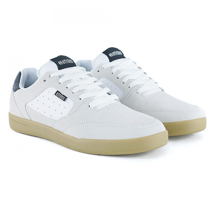Etnies Footwear Veer White Black Gum Skate Shoes