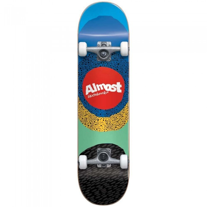 """Almost Radiate Factory Complete Skateboard Blue 8.25"""""""