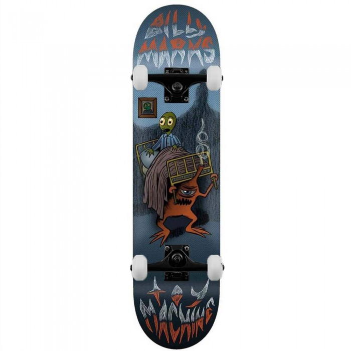 """Toy Machine Marks Under The Bed Complete Skateboard Blue 8"""""""