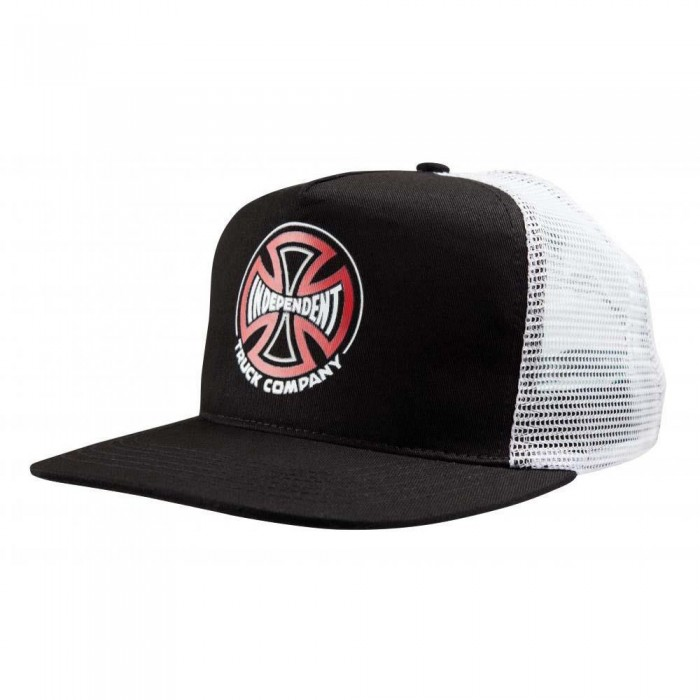 Independent Truck Co Converge Meshback Cap Black White