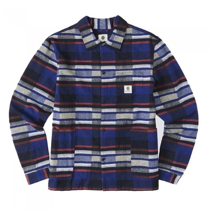 Element Americana Over Shirt Eclipse Navy