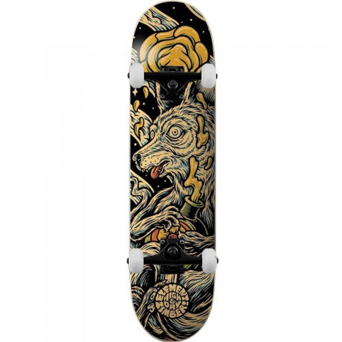"""Element Timber High Dry Wolf Complete Skateboard Multi 8.38"""""""