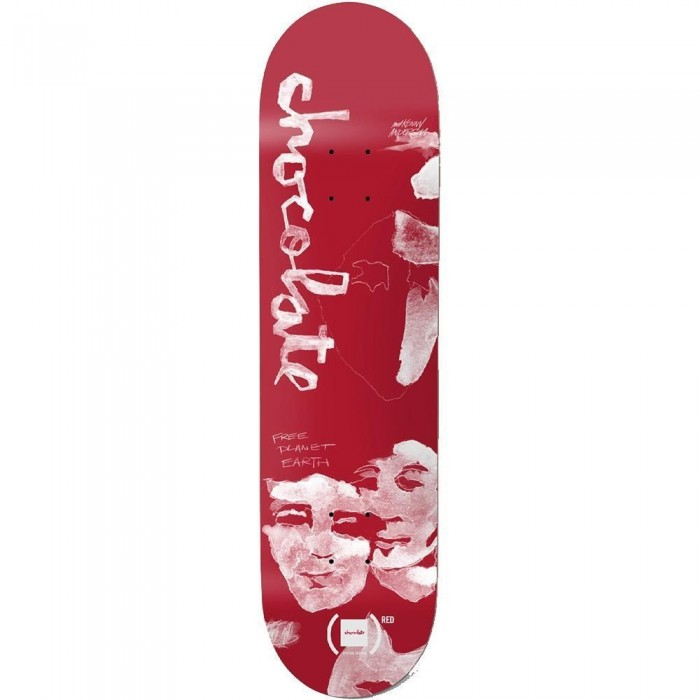 """Chocolate Anderson RED Skateboard Deck 8.25"""""""