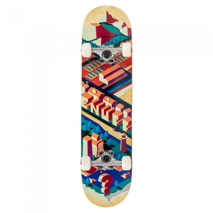 """Enuff Isotown Factory Complete Skateboard Natural 7.75"""""""