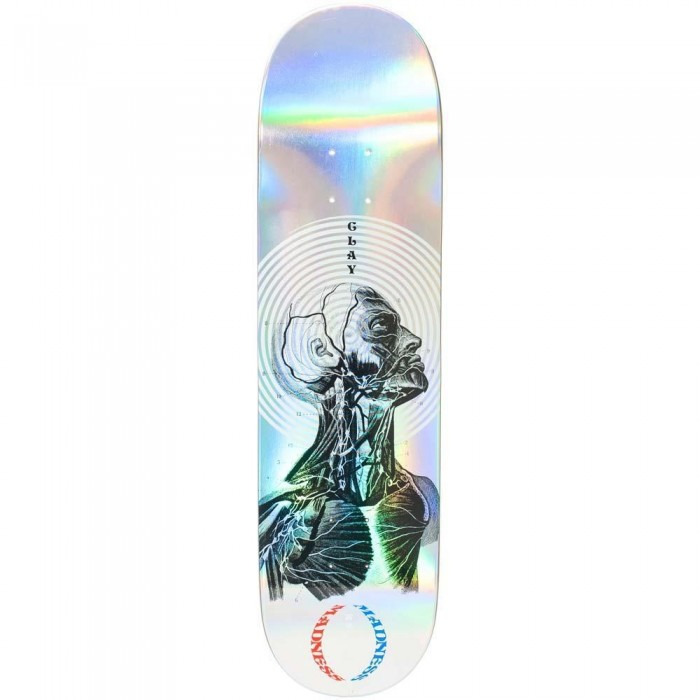 Madness Clay Inside Out Impact Light Skateboard Deck Holographic 8.25""