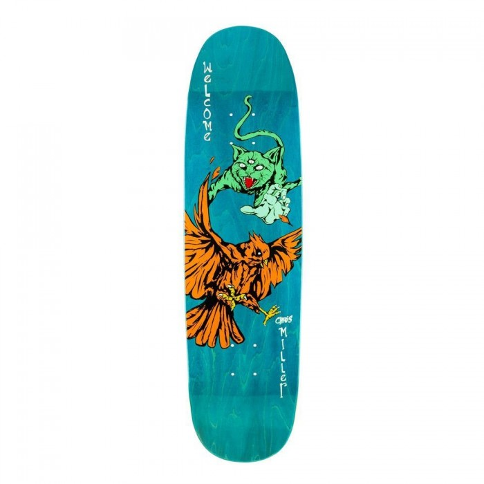 Welcome Skateboards Miller Prequel on Catblood 2 Skateboard Deck 8.75 ""
