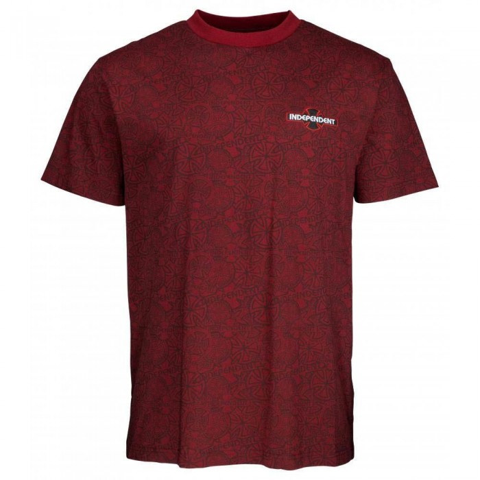 Independent Truck Co Array T-Shirt Oxblood