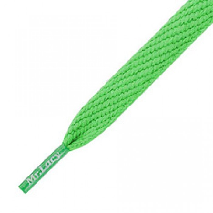 Mr Lacy Shoe Laces Flatties Kelly Green