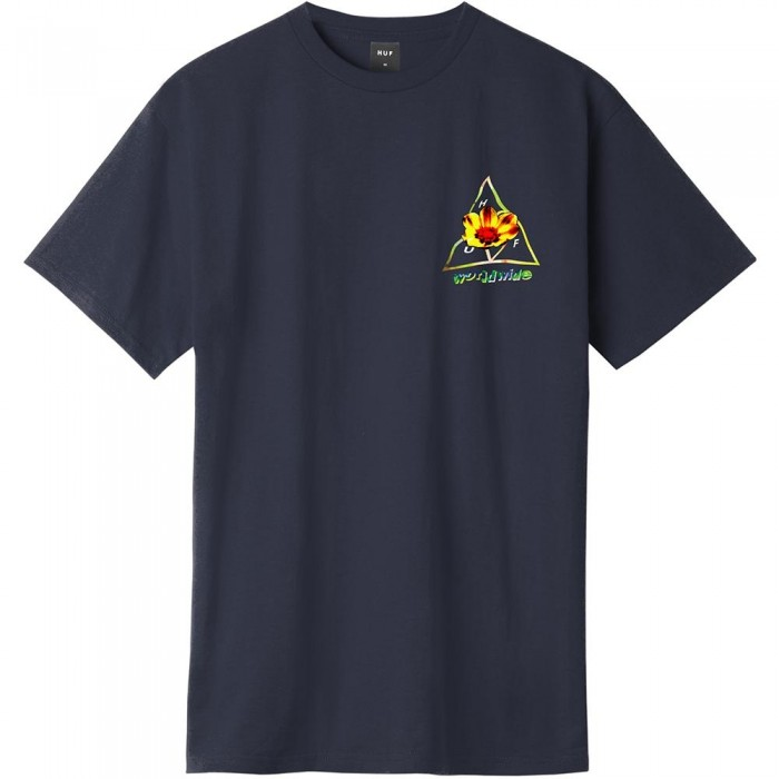 Huf Come Down T-Shirt French Navy
