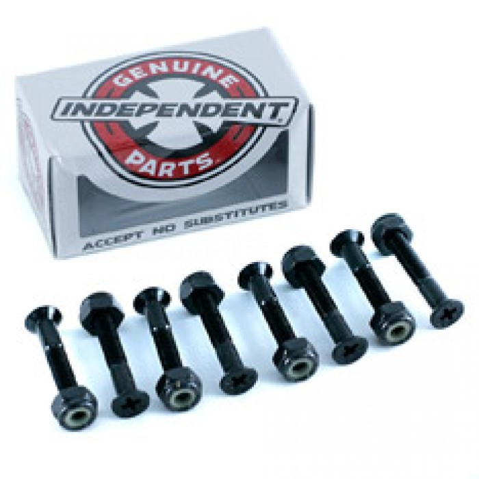 Independent Skateboard Bolts Phillips Black 1.25""