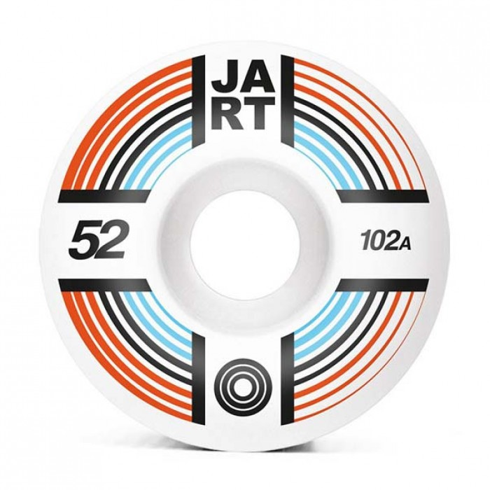 Jart Skateboards Supernova Skateboard Wheels 102A White 52mm
