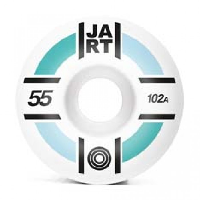 Jart Skateboards Supernova Skateboard Wheels 102A White 55mm