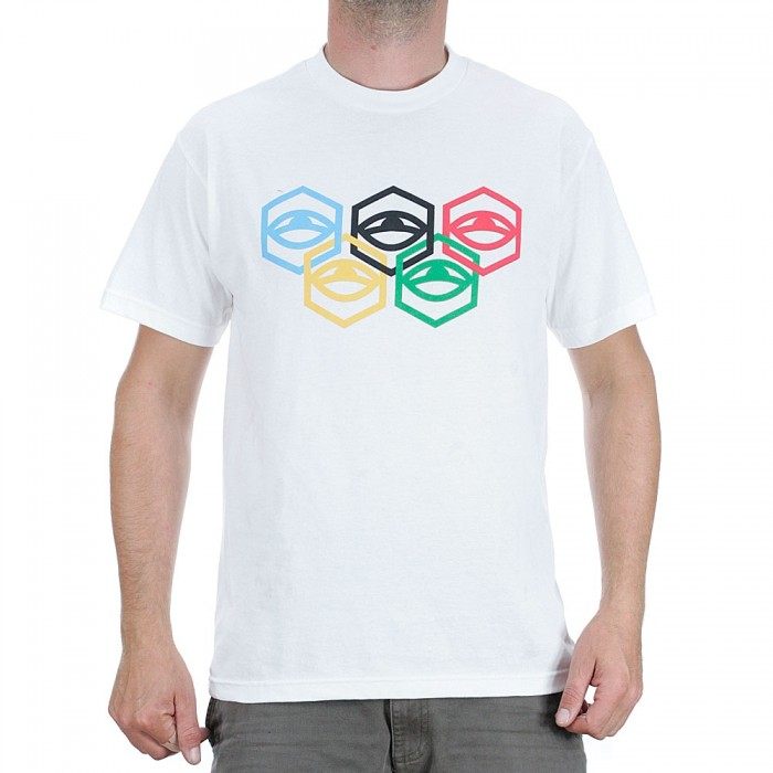 Jetlag Brothers Olympic T-Shirt White